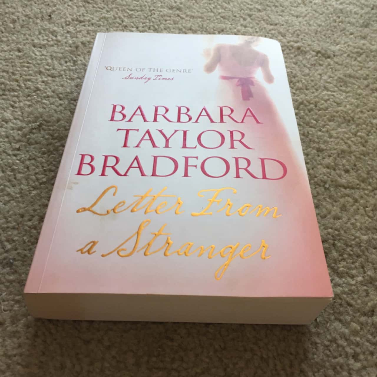 Letter From A Stranger - Book by Barbara Taylor Bradford