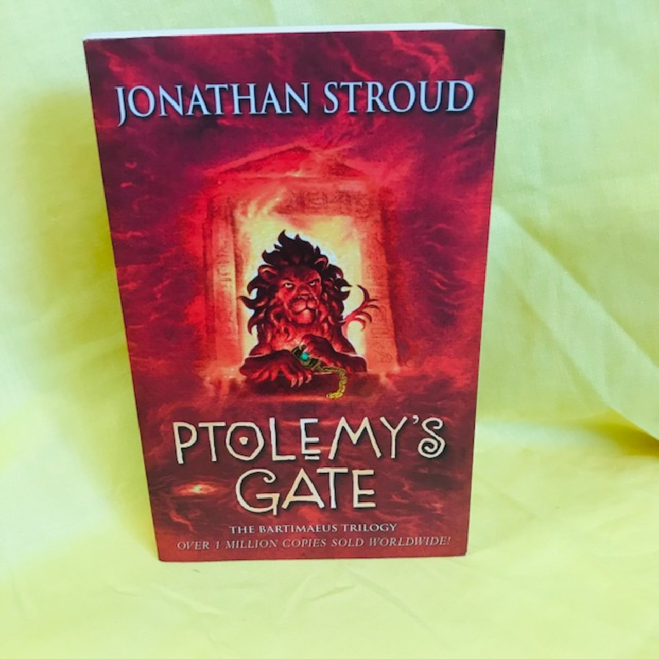 PTOLEMY'S GATE BY JONATHAN STROUD - BOOK