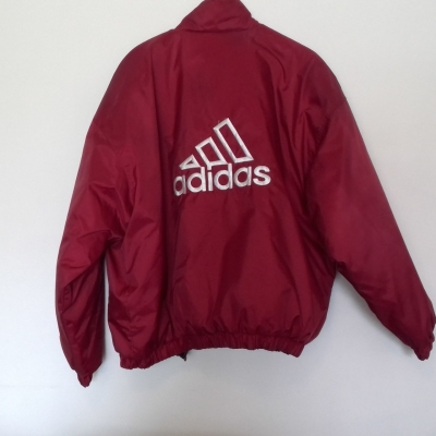 REVERSIBLE ADIDAS WARM  Womens  Winter Jacket Size L White/Blue/Maroon