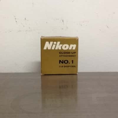 Nikon Close-Up Attachment No. 1