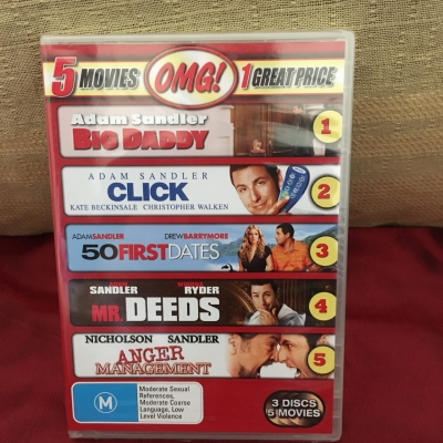 Adam Sandler - 5 Movies Brand New DVD Set