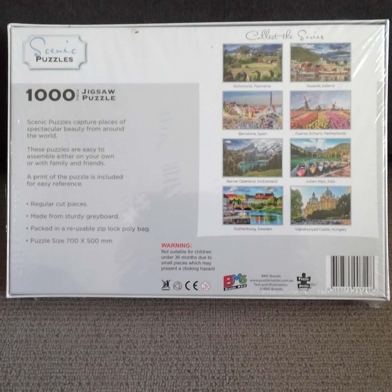 BNWT 1000 PIECE JIGSAW PUZZLE NETHERLANDS SEALED BOX
