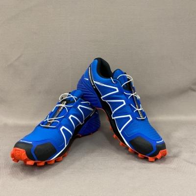 Salomon Mens Speedcross 4 Blue Size US8.5