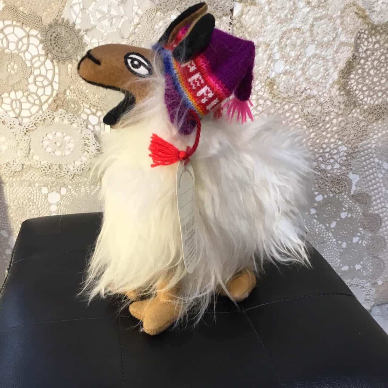 Alpaca Furred Soft Toy