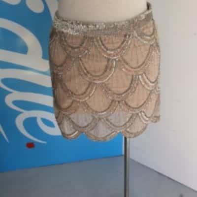 FOREVER NEW  Size 8 Womens Sequin Skirt