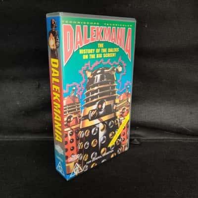 "Doctor Who ""Dalekmania""  VHS Movie"