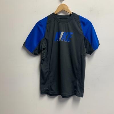 Nike Kids Size M Dri-Fit Sportswear Top Grey/Blue