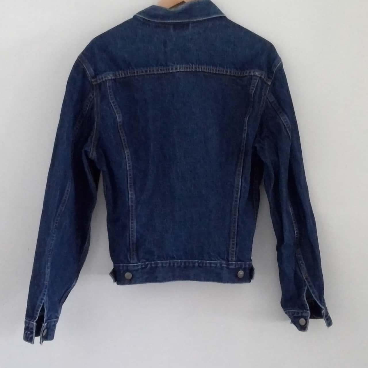 Mens LEVIS  Size L Denim Jacket Blue