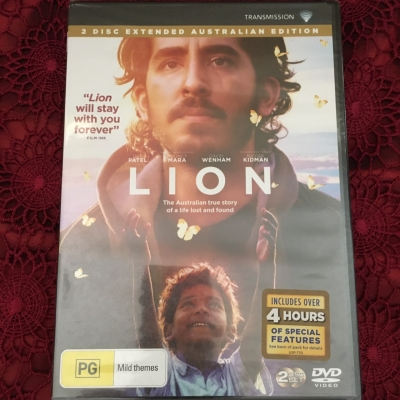 Lion DVD - 2 Disc, Brand New, Region Code : 4/PAL
