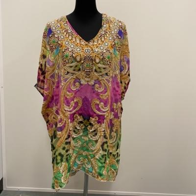 Womens INOA TOP Size XXL Floral Tops Multicoloured
