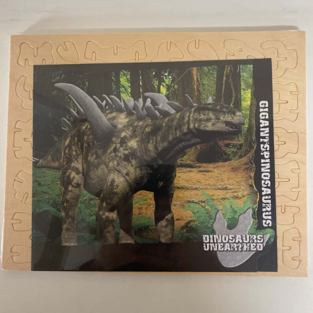 4pk Dinosaurs Unearthed Build Your Own Dinosaurs-New In Packaging