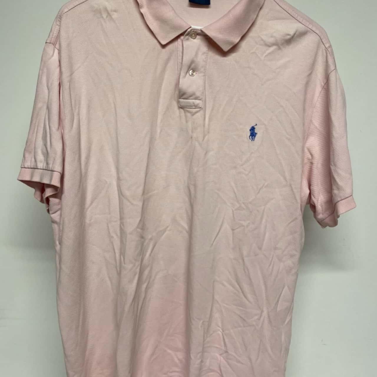 Polo Ralph Lauren Mens Short Sleeve  Size XXL Pink