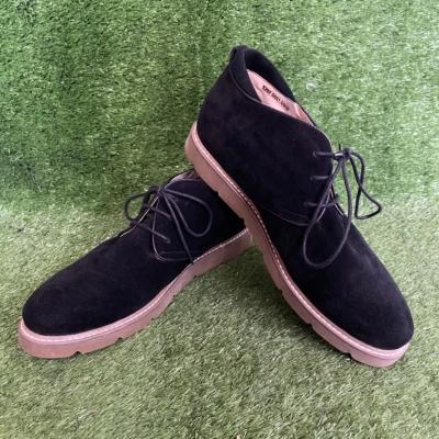 Florsheim Black Suede Shoes Size 7US