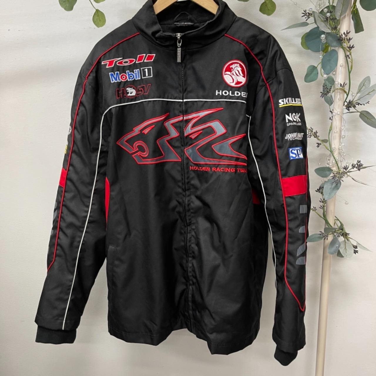 Holden Racing Team Mens  Size L Black  Jacket