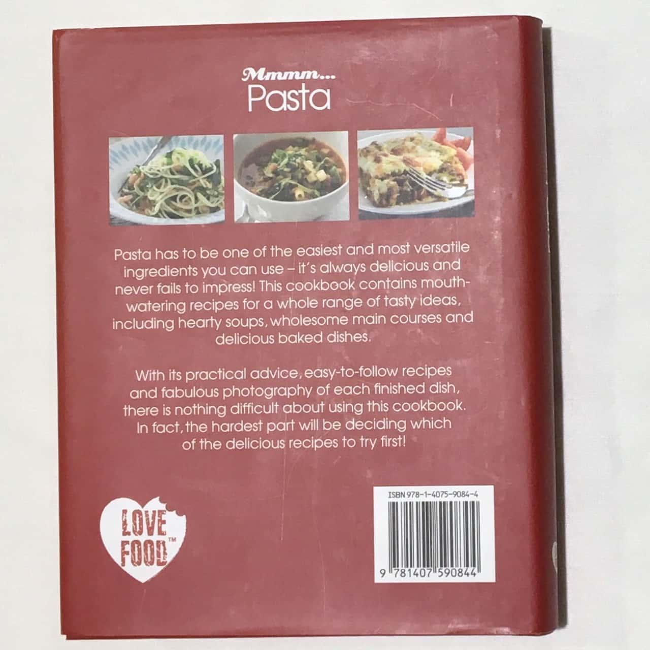 2 X Pasta Cookbooks