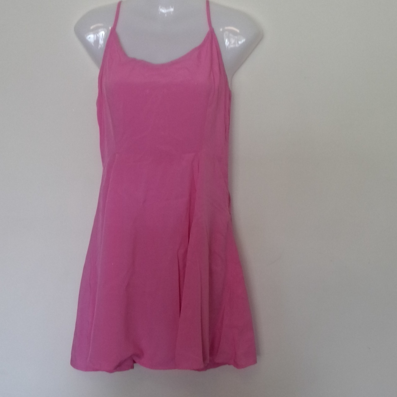 BNWT FOREVER 21 Womens Mini Summer Dress Pink  size 6