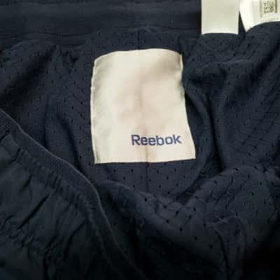 Reebok gym pants navy blue