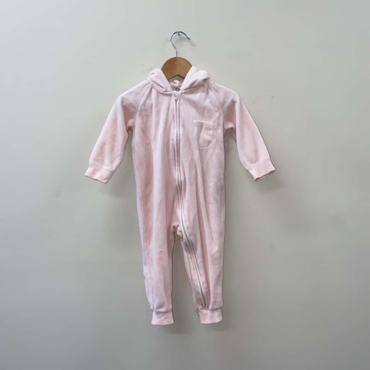 ** REDUCED LAST CHANCE ** Cotton On Baby Kids Size 1/12-18m Pink Onesie