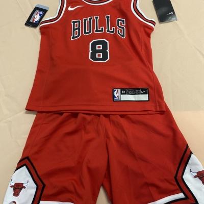 Nike Kids Red/White NBA Chicago Bulls set