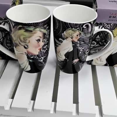 2 Maxwell Williams Coffee Mugs