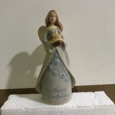 Enesco- Mini Angel Happy Birthday Figurine