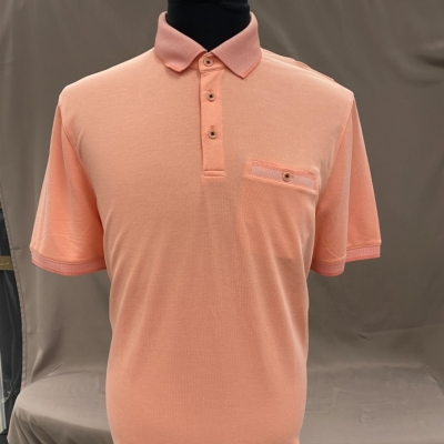 Ted Baker Mens Pink Polo Top Size 6 / XXL Brand New