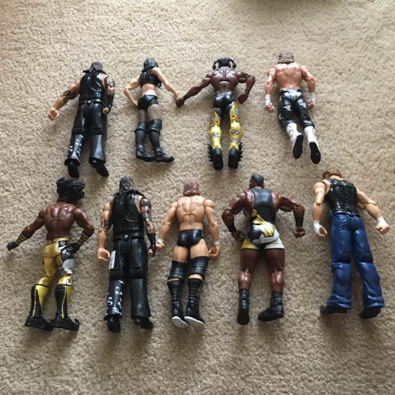 WWF Figurines - 9 pcs (Toys)