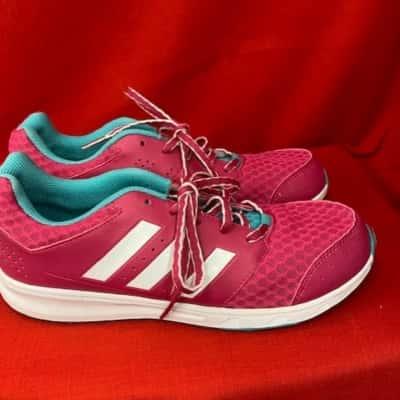 Adidas Womens  Size US 7, UK 6.5, Pink  Eco Ortholite shoes