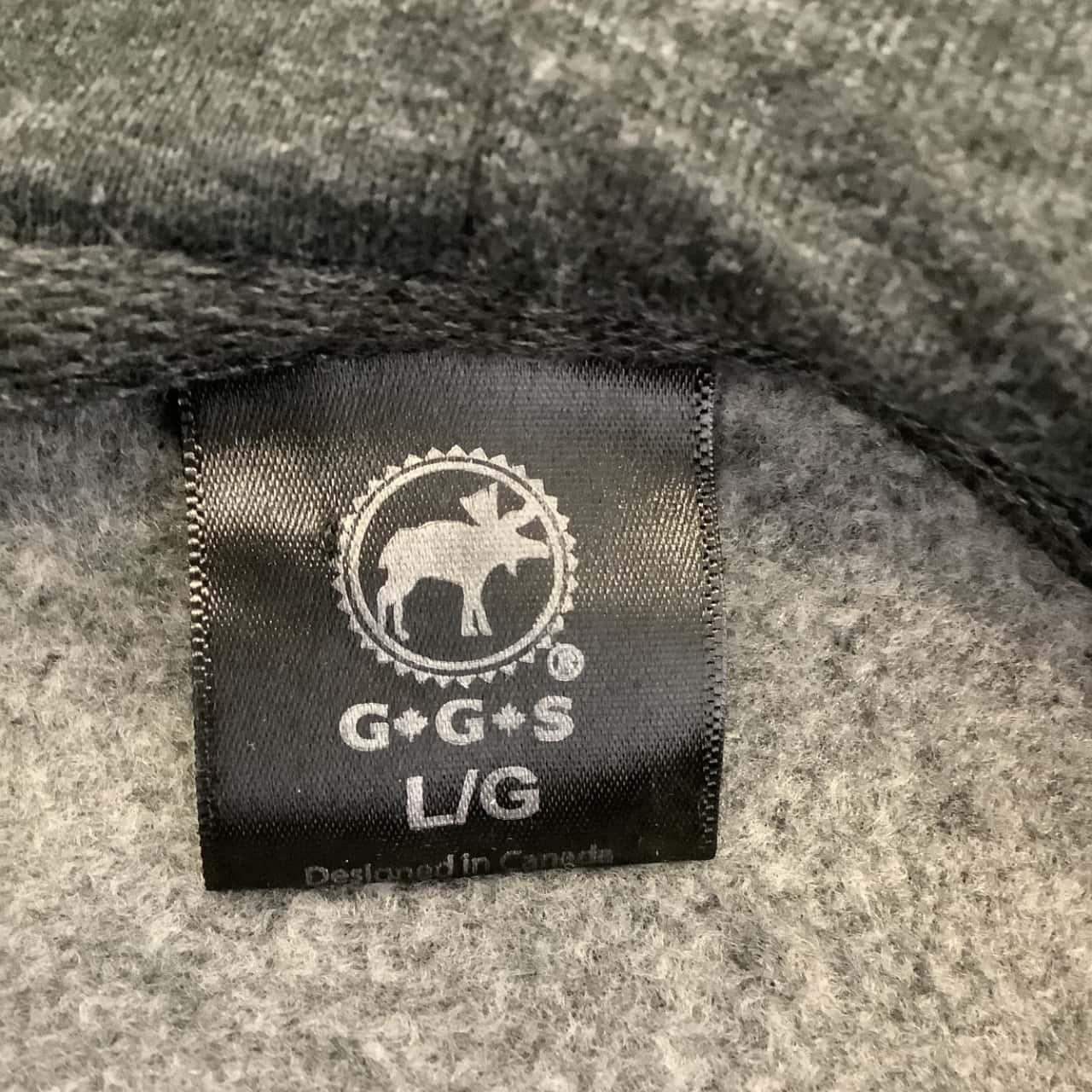 G.G.S Mens Size L/G. Grey True North Canada Hoodie Jumper