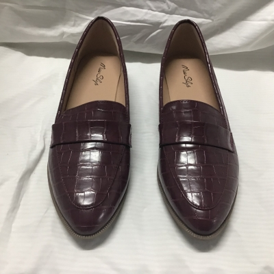 Miss Shop, Burgundy loafers, Size 9, RRP $69.95