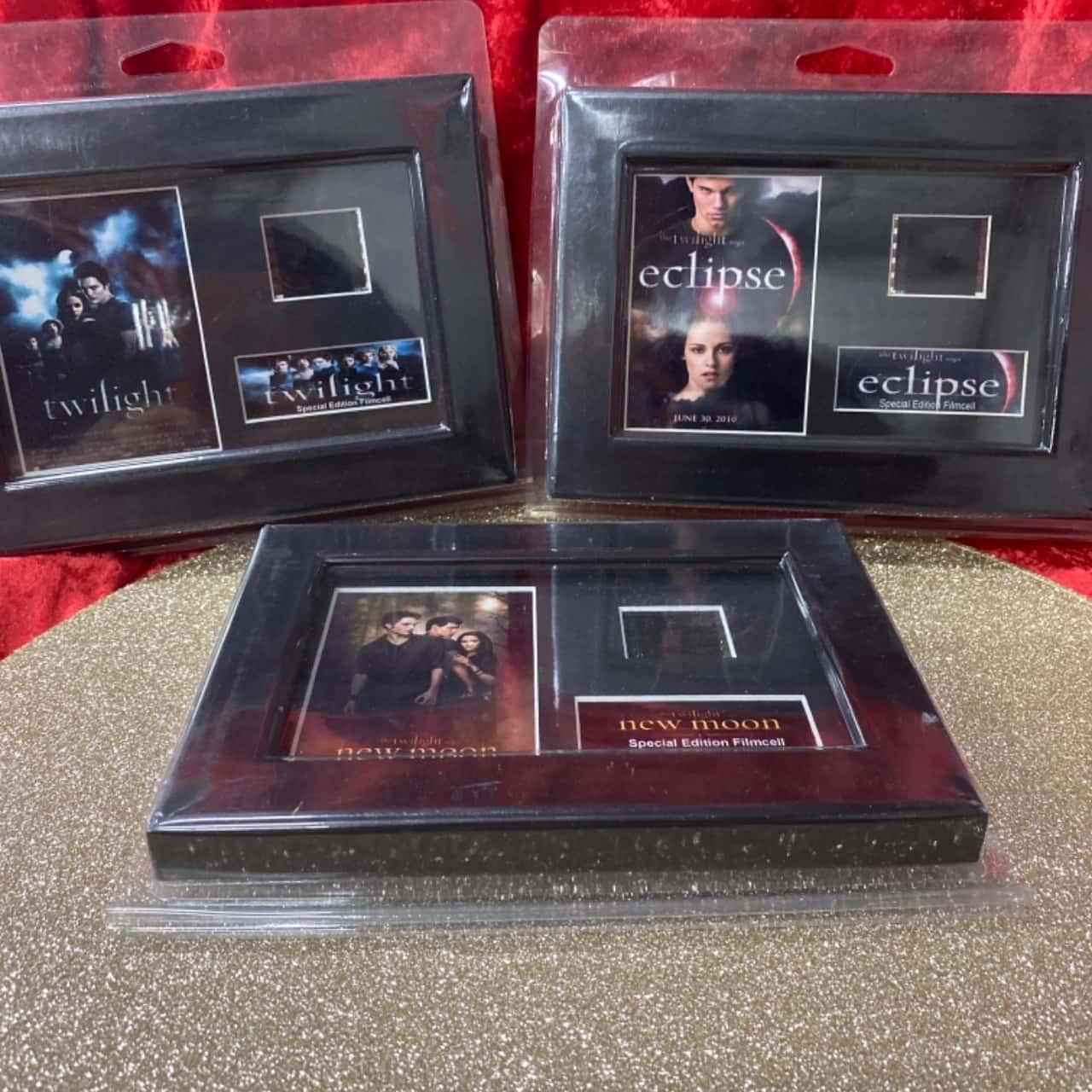 Twilight saga film reels