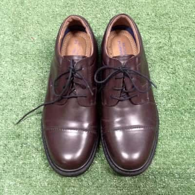 Hush Puppies Mens  Size 7.5 Brown leather dress shoes