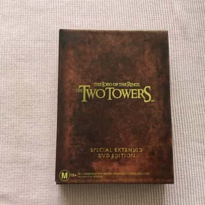 THE LORD OF THE RINGS THE TWO TOWERS SPECIAL EXTENDED DVD EDITION 4 discs
