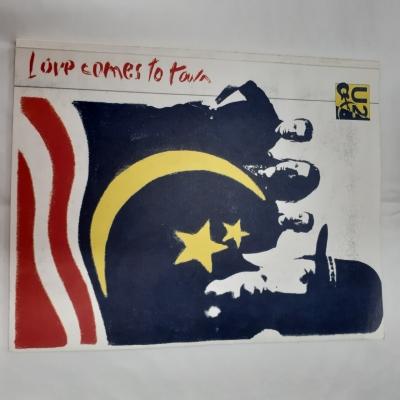 U2 - Love comes to town, 1989 Aus & NZ