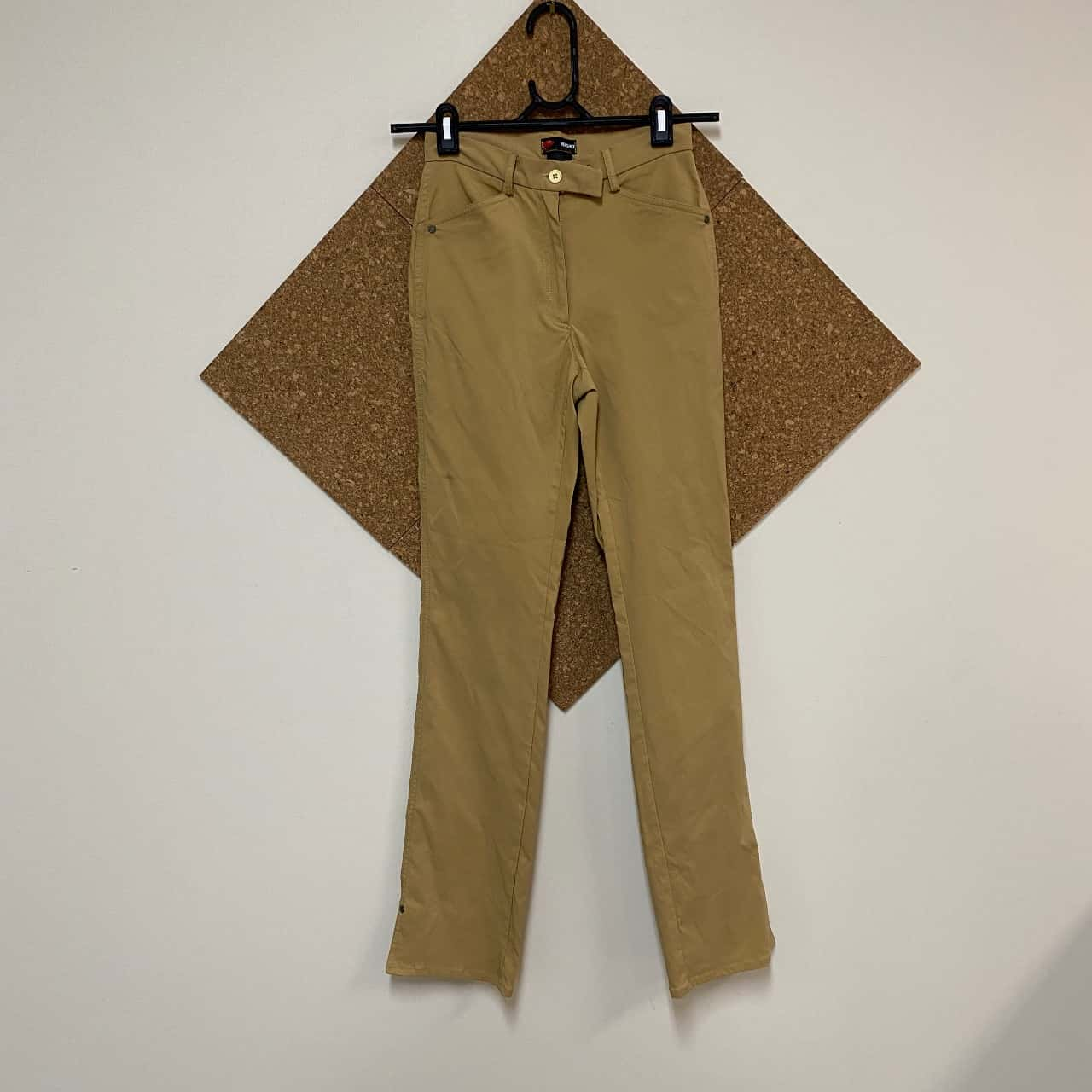 Versace Womens  Size S Long Sleeve Brown Top and Pants