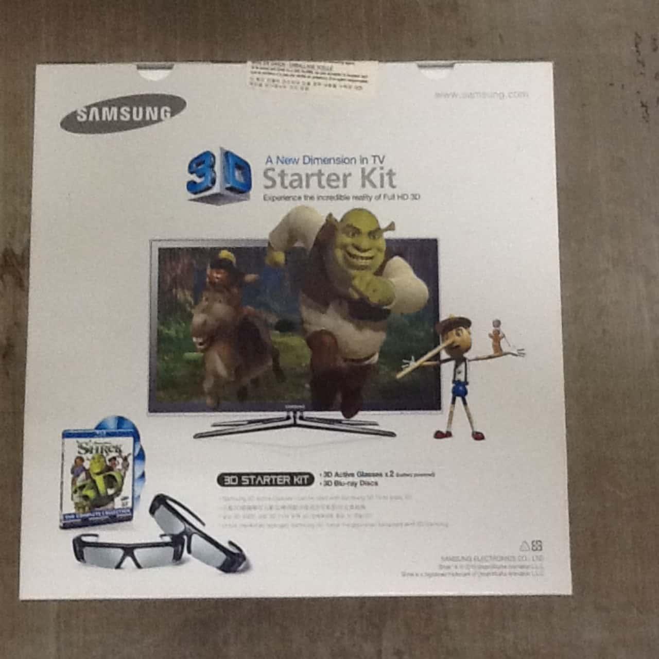 Samsung 3D Starter Kit
