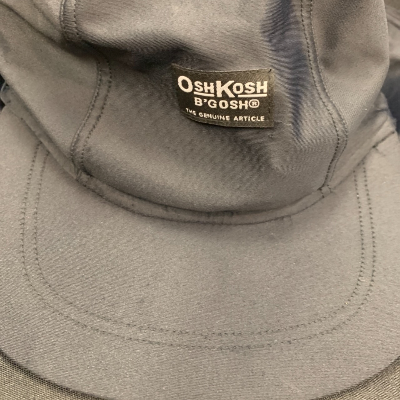 OshKosh Ultraviolet protection. Factor 50+ sun hat with neck cover