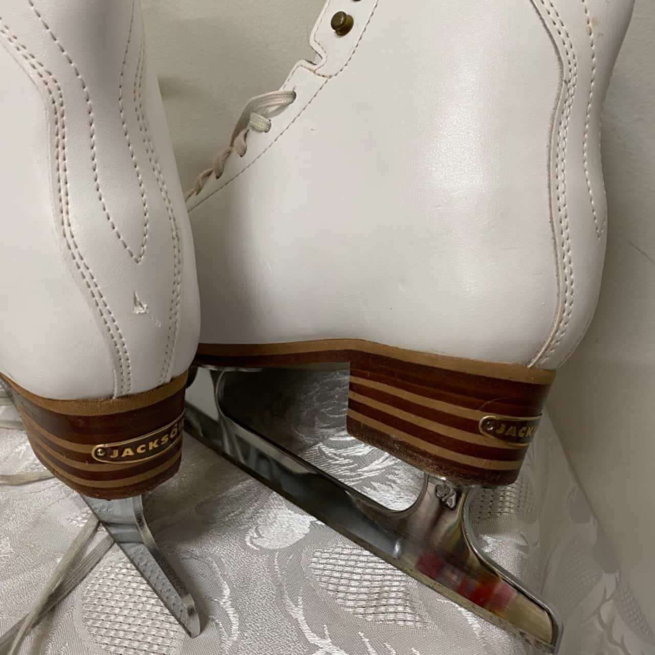 Jackson Competitor Figure Skating Boots Size 7 White