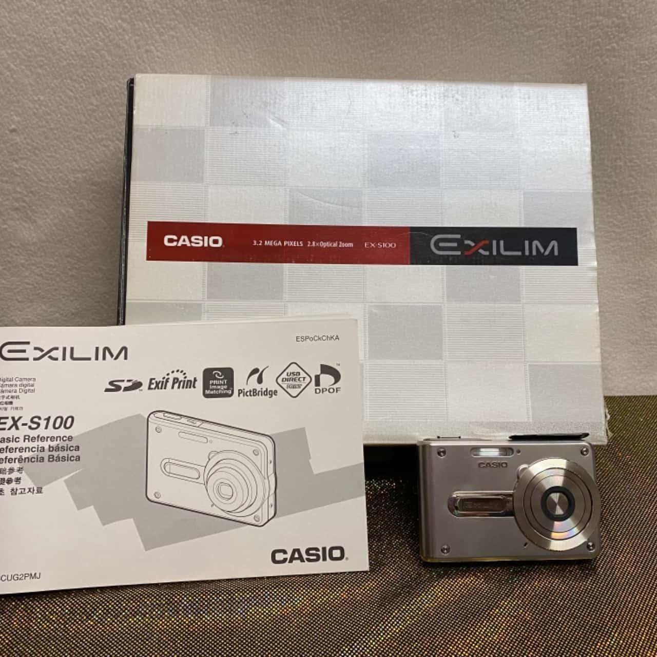 CASIO EX-S100 digital camera brand new