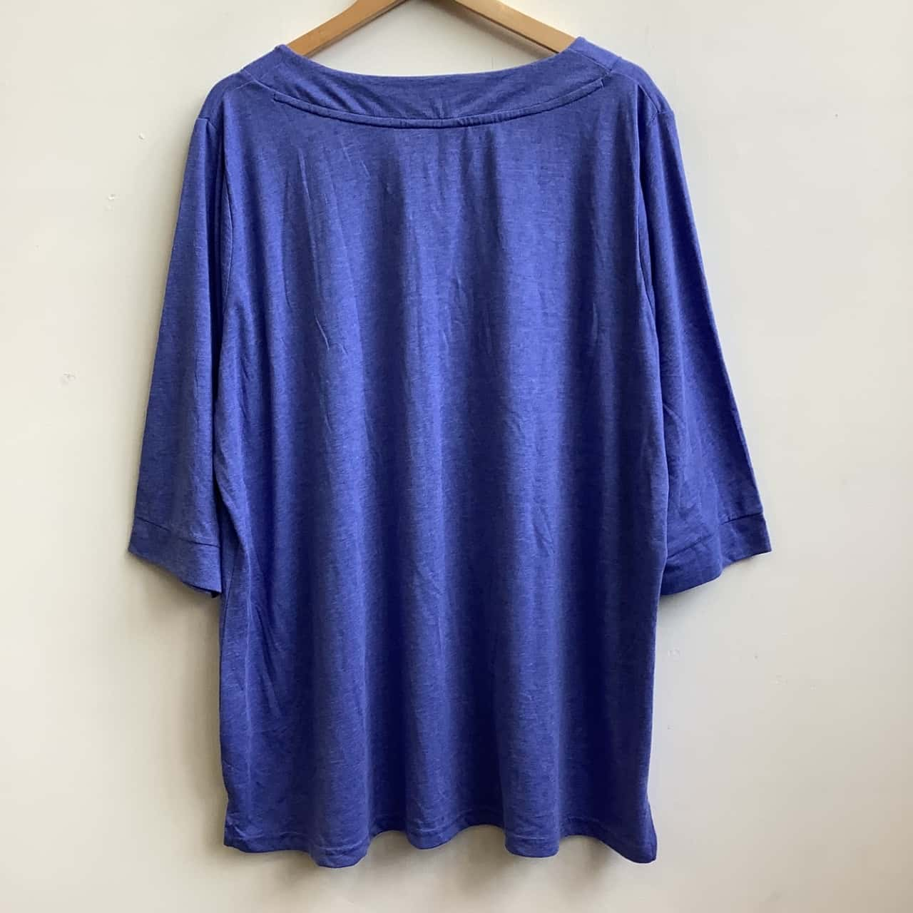 Yours  Size 26/28 Womens Blue Top BNWT