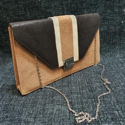 Unbranded Womens Brown/Cream Handbag