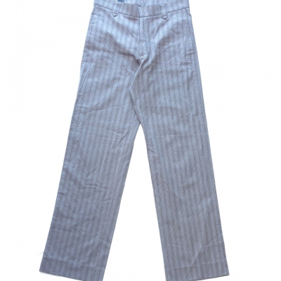 Calibre Mens  Size 28  Blue/Brown/Pinstripe Dress Pant