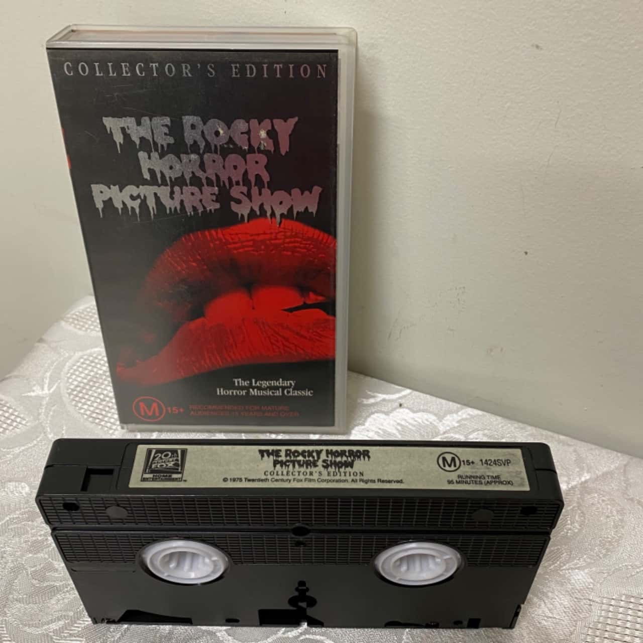 The Rocky Horror Picture Show VHS Cassette Tape