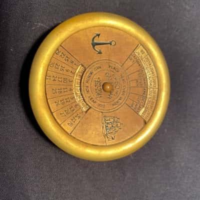 Brass 50 Year Calendar 1992 - 2041