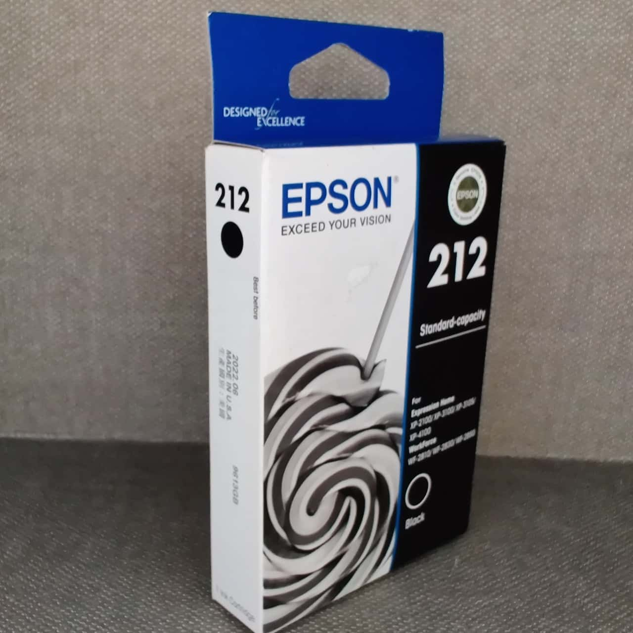 Epson 212 Black Inkjet Cartridge