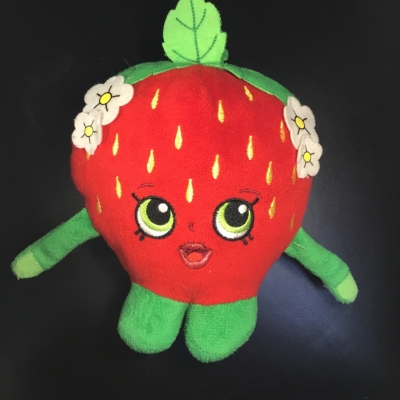 Shopkins Sweet Strawberry Soft Toy