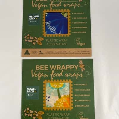 New Wrappy Vegan food wraps