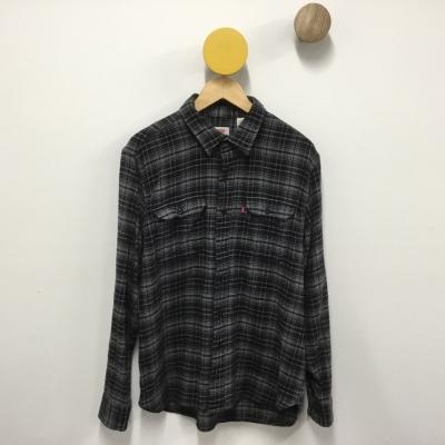Levis Mens Size L Grey Suit Jacket