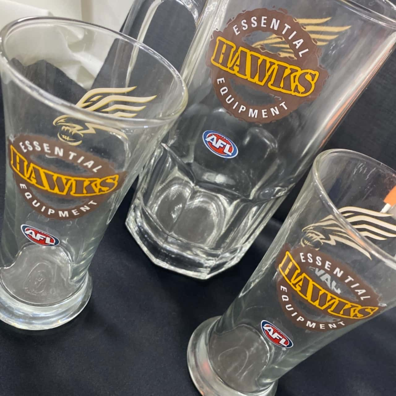 Hawthorn glasses