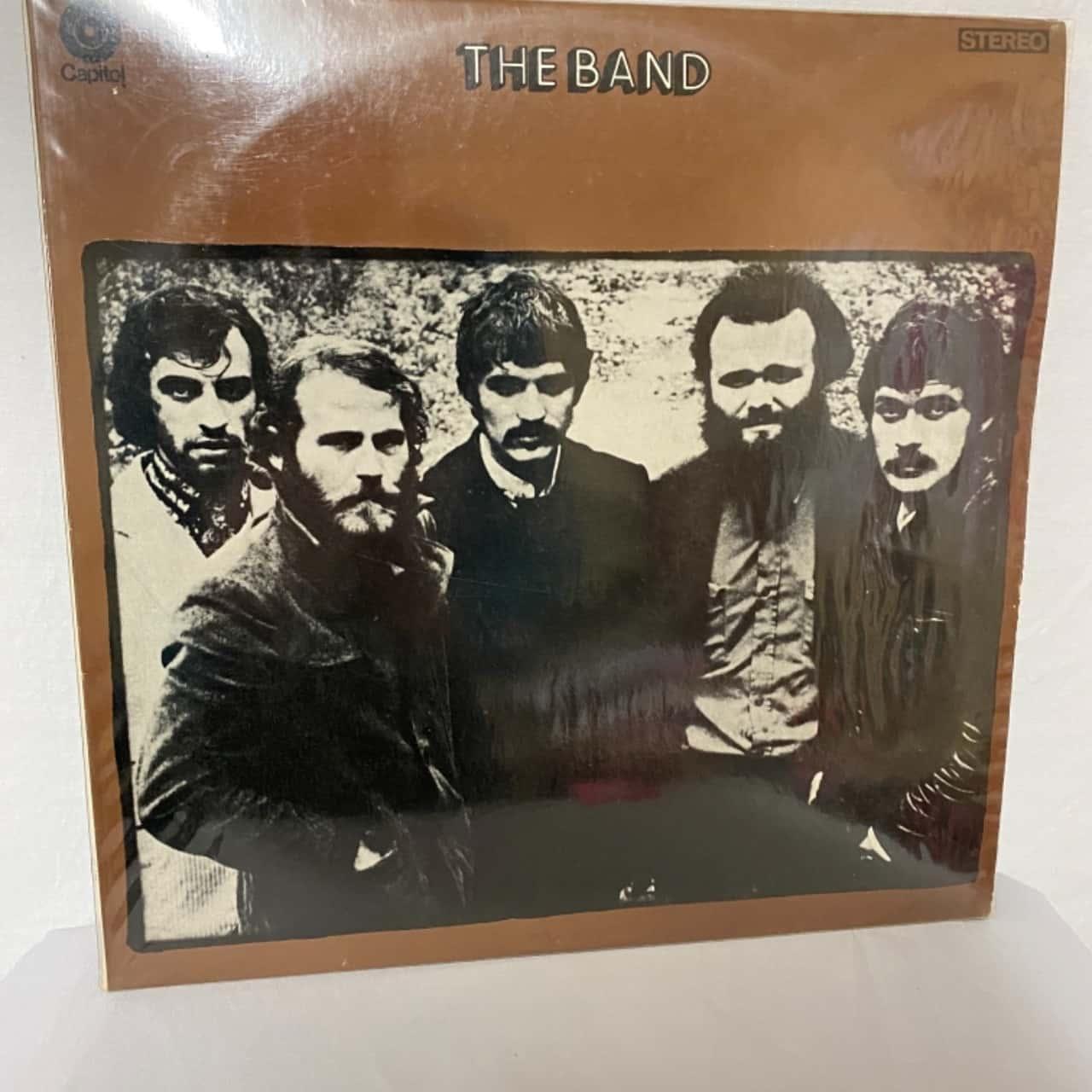 "Vinyl record "" The Band """